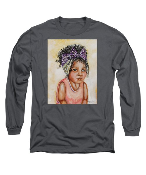 Angel Baby, The Painting Long Sleeve T-Shirt