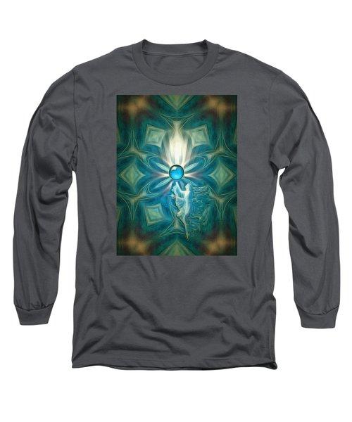 Angel Globe Long Sleeve T-Shirt