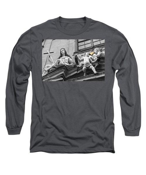 Angel Heart Long Sleeve T-Shirt by Sonny Marcyan