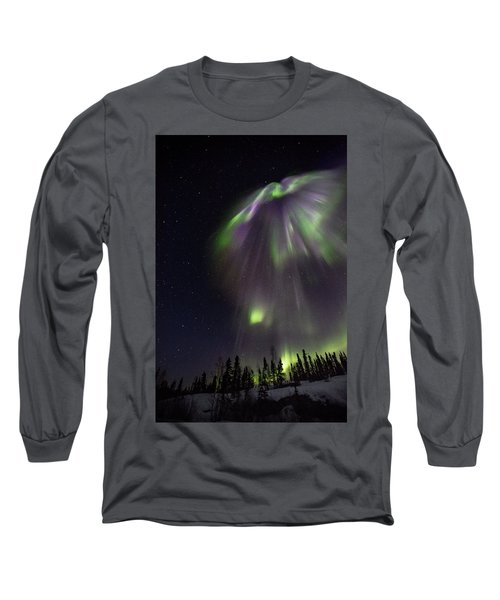 Angel In The Night Long Sleeve T-Shirt
