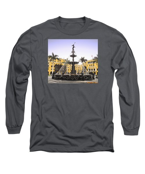 Angel In The Square Long Sleeve T-Shirt