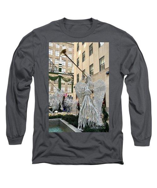 Angel New York City Long Sleeve T-Shirt