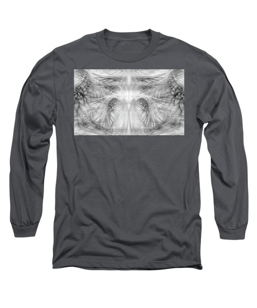 Angel Wings Pattern Long Sleeve T-Shirt