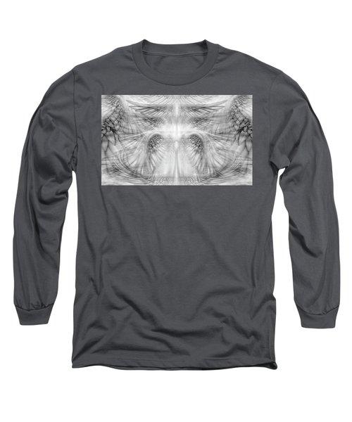 Angel Wings Pattern Long Sleeve T-Shirt