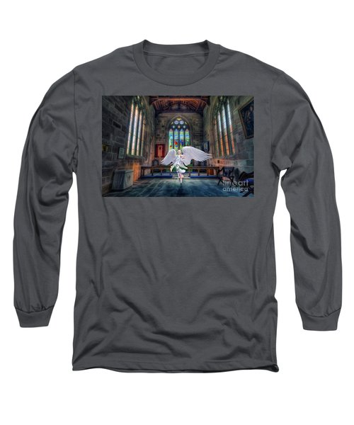 Angels Love And Guidance Long Sleeve T-Shirt