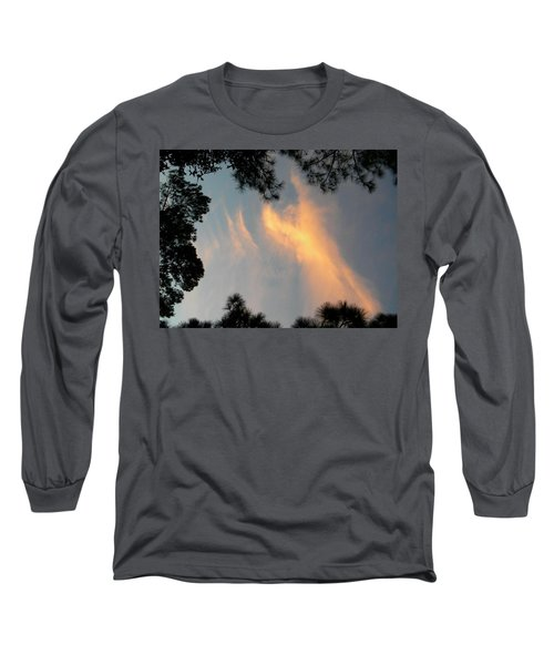 Angels Over The Front Yard Long Sleeve T-Shirt