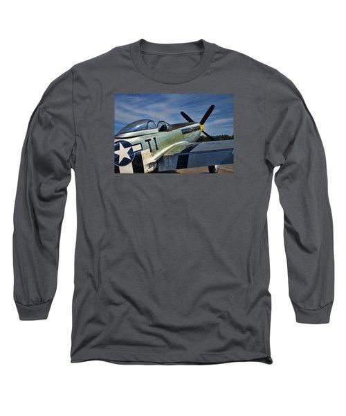 Angels Playmate P-51 Long Sleeve T-Shirt
