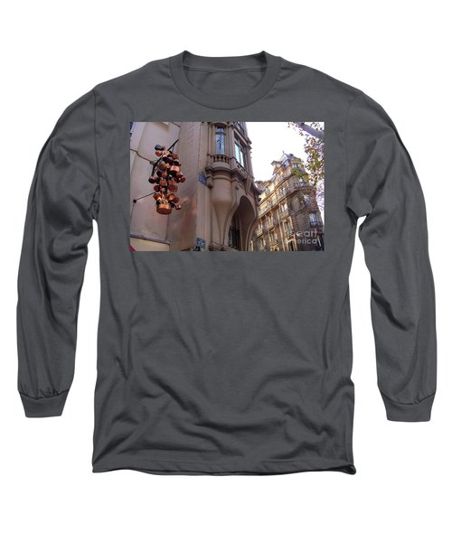 Angles And Details At Place Saint Andre Des Arts Long Sleeve T-Shirt