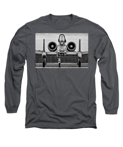 Angry, Wet Hog Long Sleeve T-Shirt