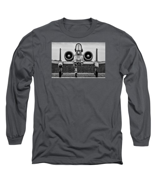 Angry, Wet Hog Long Sleeve T-Shirt