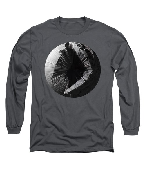 Angst IIi Painting As A Spherical Depth Map. 2 Long Sleeve T-Shirt by Paul Davenport