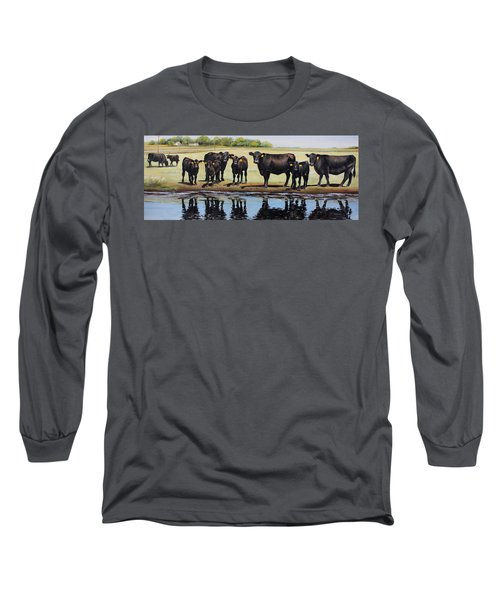 Angus Reflections Long Sleeve T-Shirt