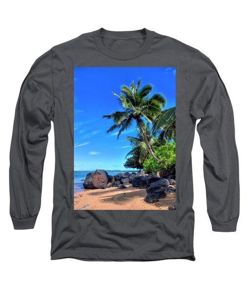 Anini Beach Long Sleeve T-Shirt