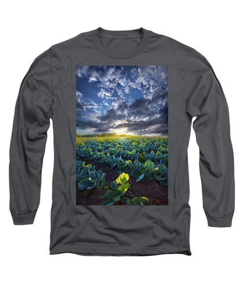 Long Sleeve T-Shirt featuring the photograph Ankle High In July by Phil Koch