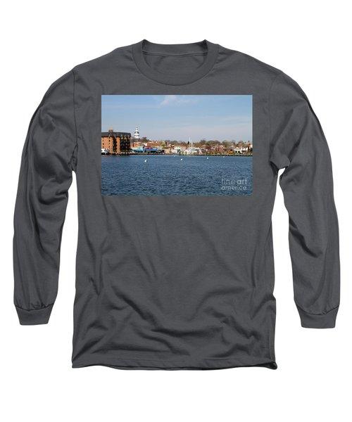 Annapolis City Skyline Long Sleeve T-Shirt