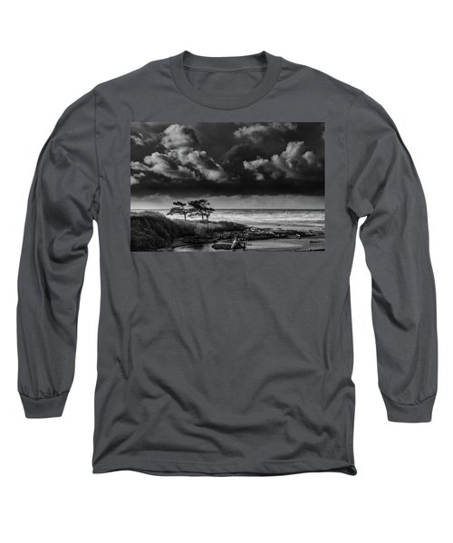 Another Day At Kalaloch Beach Long Sleeve T-Shirt by Dan Mihai