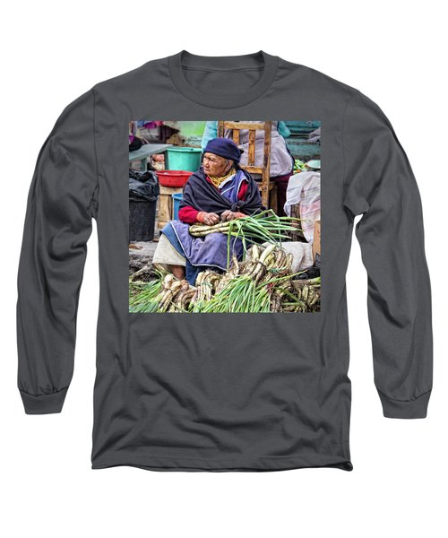 Another Day At The Market Long Sleeve T-Shirt
