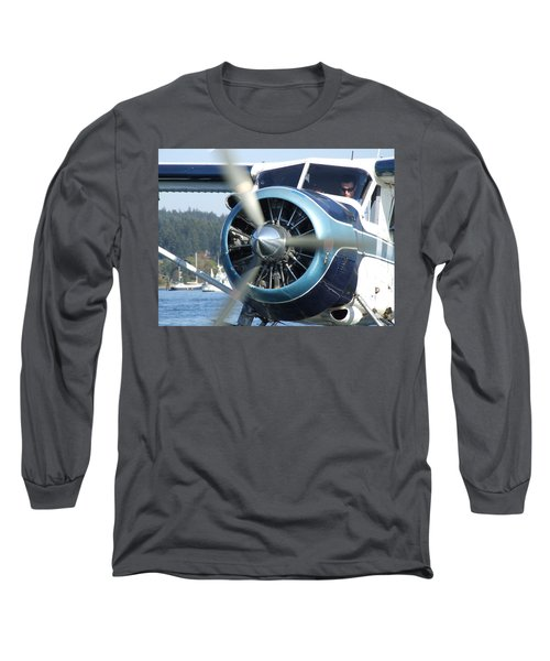 Long Sleeve T-Shirt featuring the photograph Another Day At The Office by Mark Alan Perry
