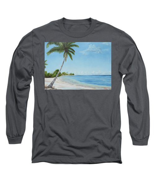 Another Day In Paradise Long Sleeve T-Shirt by Lloyd Dobson