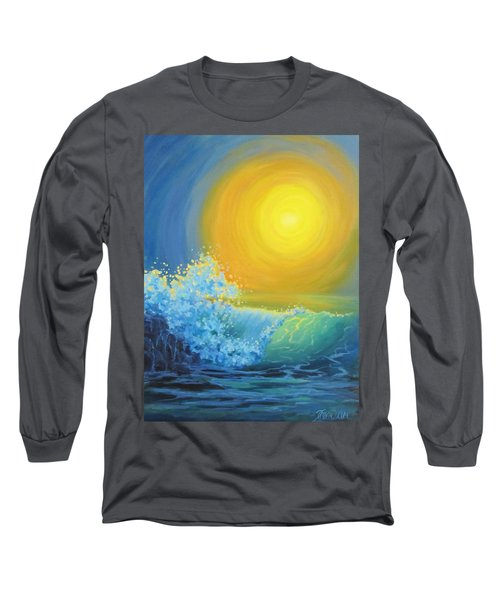 Long Sleeve T-Shirt featuring the painting Another Sun by Karen Ilari