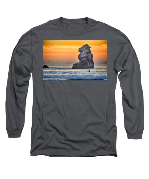 Another World Long Sleeve T-Shirt by AJ Schibig