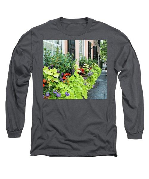 Anson St. Long Sleeve T-Shirt by Ed Waldrop