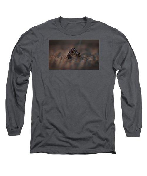 Ant Fight Long Sleeve T-Shirt by Nikki McInnes