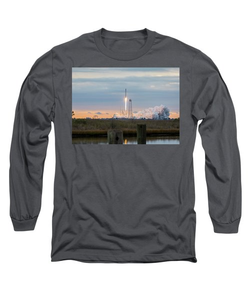 Antares Launch From Wallops Island Long Sleeve T-Shirt