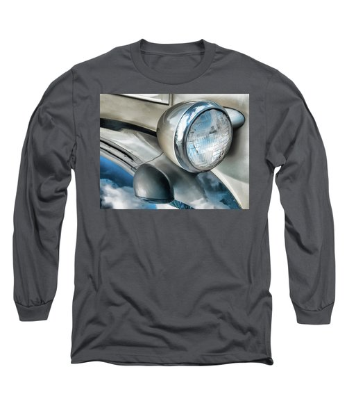 Antique Car Headlight And Reflections Long Sleeve T-Shirt
