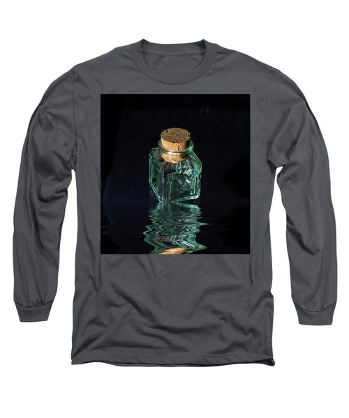 Antique Glass Bottle Long Sleeve T-Shirt by David French