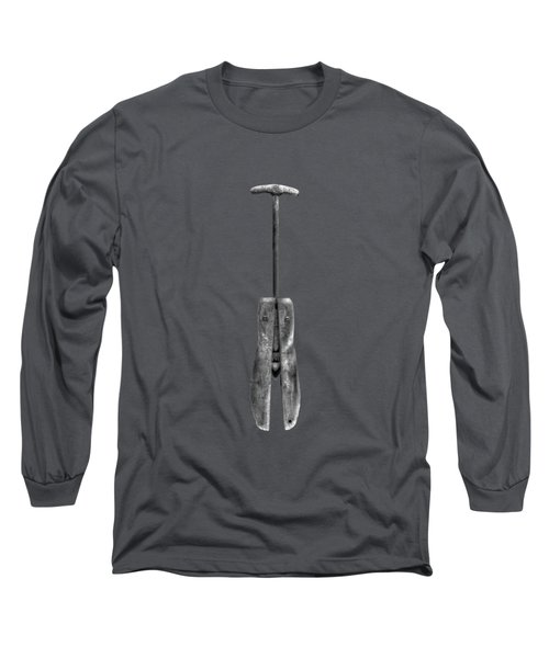 Antique Shoe Stretcher Bw Long Sleeve T-Shirt