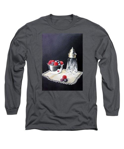 Antique Sugar Shaker Long Sleeve T-Shirt by Brenda Brown