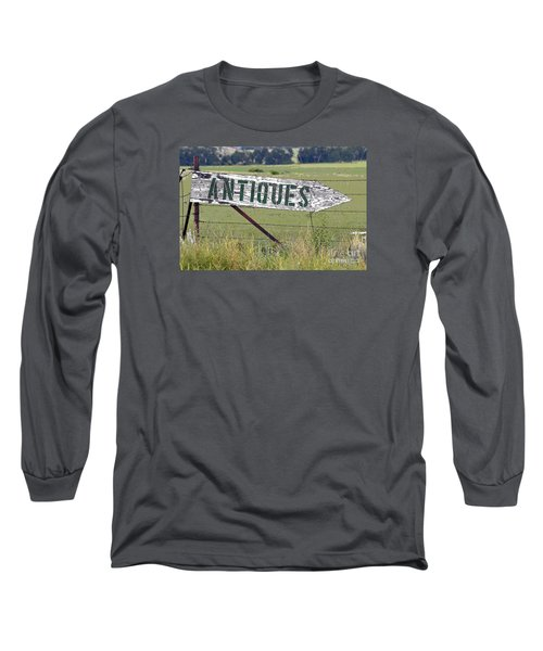 Antiques  Long Sleeve T-Shirt by Juls Adams