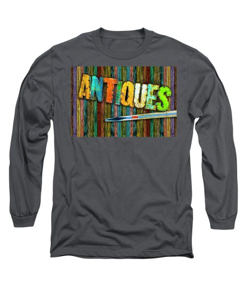 Antiques Long Sleeve T-Shirt by Paul Wear
