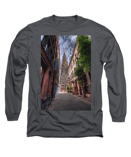 Antwerp Cathedral Long Sleeve T-Shirt