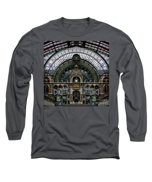 Antwerp Train Terminal Long Sleeve T-Shirt