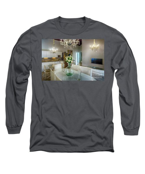 Long Sleeve T-Shirt featuring the photograph Apartment In The Heart Of Cadiz Spain 17th Century by Pablo Avanzini