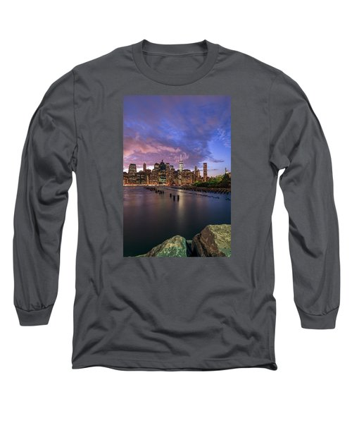 Long Sleeve T-Shirt featuring the photograph Apocalypse by Anthony Fields