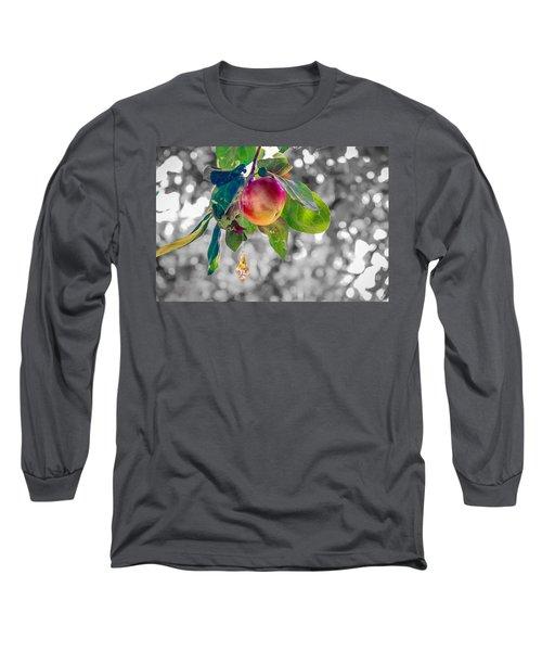 Apple And The Diamond Long Sleeve T-Shirt