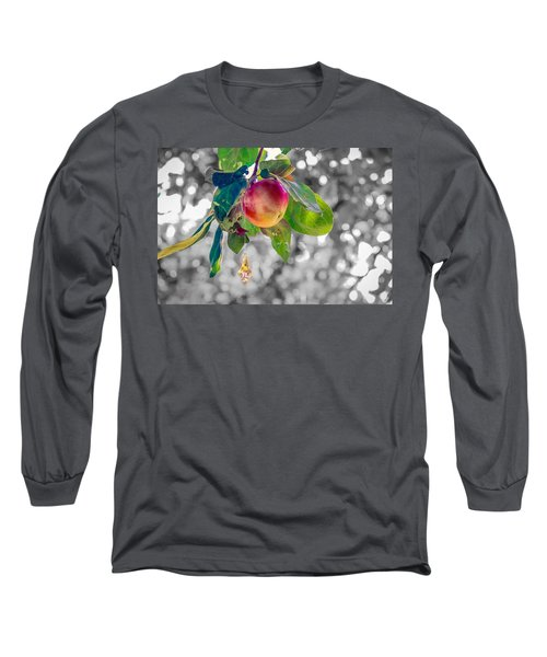 Apple And The Diamond Long Sleeve T-Shirt