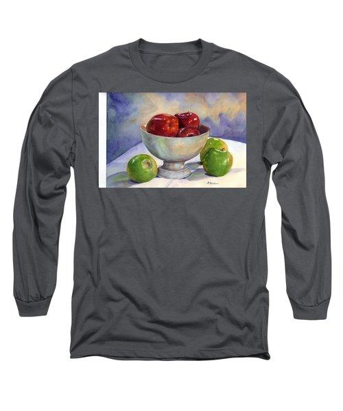 Apples - Yum Long Sleeve T-Shirt