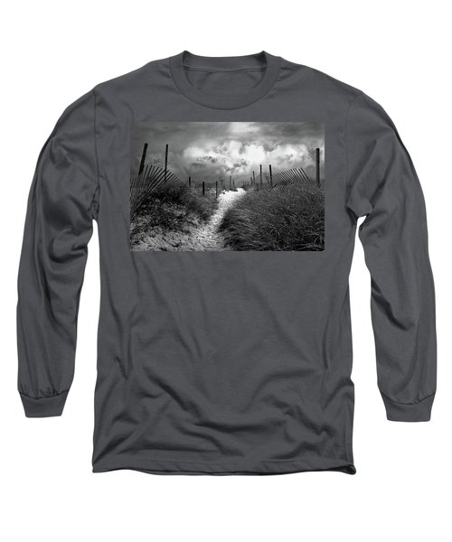 Approaching Storm Long Sleeve T-Shirt by John Rivera