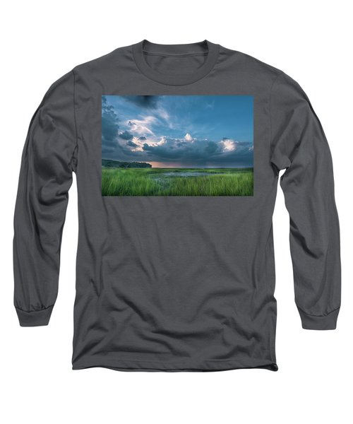 Approaching Storm Long Sleeve T-Shirt by Phyllis Peterson