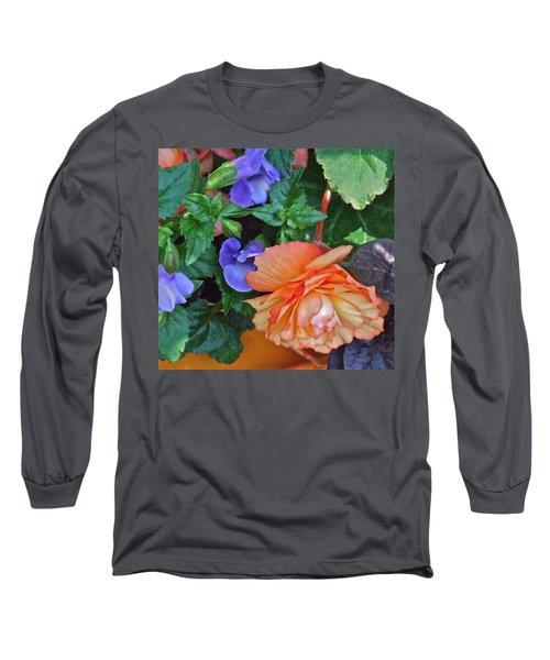 Apricot Begonia 1 Long Sleeve T-Shirt