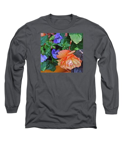 Apricot Begonia 1 Long Sleeve T-Shirt