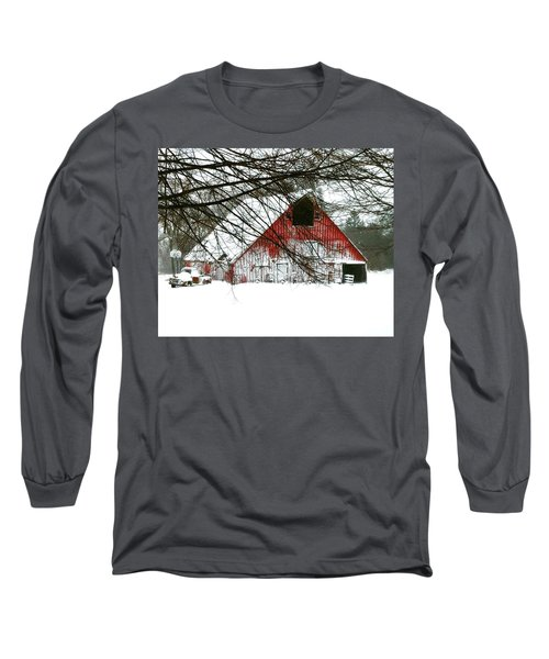 April Blizzard Long Sleeve T-Shirt
