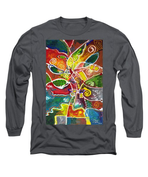 April Bouquet Long Sleeve T-Shirt