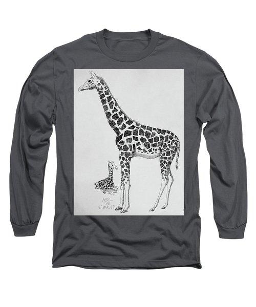 April The Giraffe Long Sleeve T-Shirt