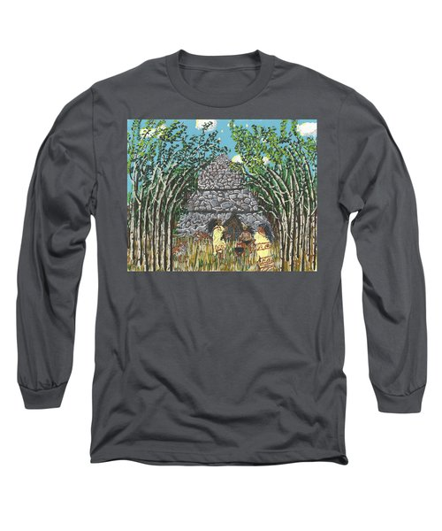 April  The Shaman Calls The Jaguars Long Sleeve T-Shirt