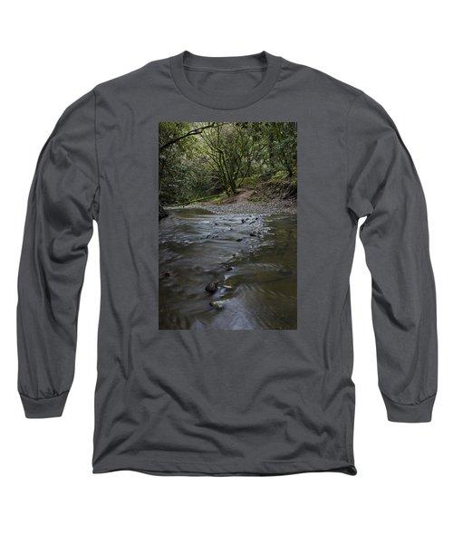Aptos Creek -- Nisene Marks State Park Long Sleeve T-Shirt